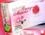 sabun bunga mawar
